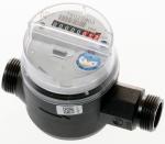 Einstrahl-Wasserzähler mit Composite-Gehäuse, modularem Zählwerk und Option Kommunikations-Modul  - Gehäuse aus hochwertigem Composite-Werkstoff   Modulares Zählwerk: Vorbereitet für die Aufnahme eines elektronischen Kommunikationsmoduls •Residia-P Puls-Modul •Residia-M M-Bus-Modul •Base-R Funkmodul, kompatibel zum Funksystem SensusBase  - Option: Kommunikationsmodul werkseitig aufgebaut - Einstrahl-Volltrockenläufer mit Magnetkupplung - Schutz gegen externe Magnetfelder gemäß EN 14 154, jedoch über den gesamten Messbereich - Als Kaltwasserzähler geeignet bis 30 °C - Als Warmwasserzähler geeignet bis 90 °C - Einbaulage beliebig, außer Über-Kopf-Lage Zählerkopf auf beste Ableseposition ausrichtbar