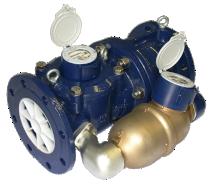 Verbundwasserzähler für Kaltwasser bis 50 °C DN 150  - Zähler mit Bauartzulassung gem. 2014/32/EU (MID) Anhang MI001 - Keine Ein- oder Auslaufstrecke notwendig durch integrierten Strömungsgleichrichter (U0D0)  - Federbelastetes Umschaltventil mit geringem Druckverlust und hoher Standfestigkeit  - Nebenzähler als Ringkolbenzähler RK-MS HRI, Glas/Kupferzählwerk Schutzklasse IP68 - Optimaler Korrosionsschutz durch Pulverbeschichtung - Zähler kann überflutet werden, Schutzklasse IP68 - Installationsposition horizontal - Zählwerk vorbereitet für HRI-Mei und Opto OD Aufnahme - Verwendete Materialien temperaturbeständig bis 50 °C